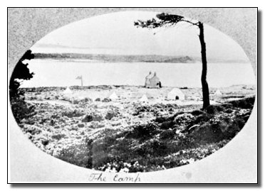Brownsea Camp view 1907